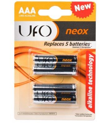Батарейка UFO LR03/ААА NEOX 1шт