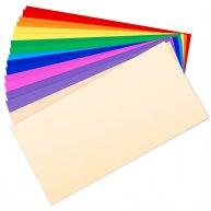 Конверт DL кольоровий 1шт асорті