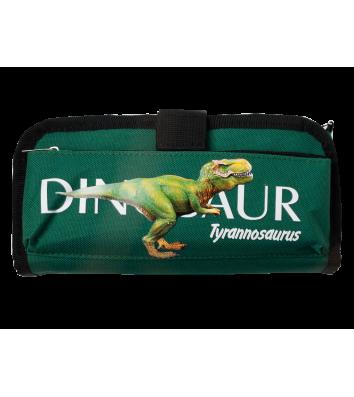 Пенал м'який 1 відділення на блискавці Tyrannosaurus, Zibi