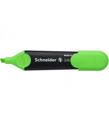 Маркер текстовий Job 150, колір чорнил зелений 1-4,5мм, Schneider