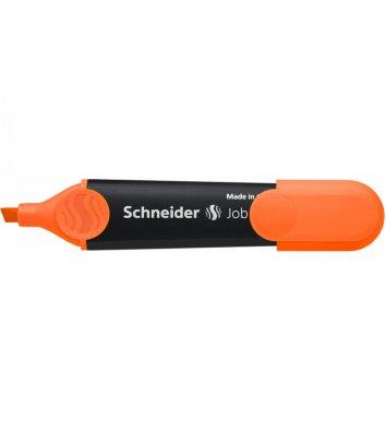 Маркер текстовый Job 150, цвет чернил оранжевый 1-4,5мм, Schneider