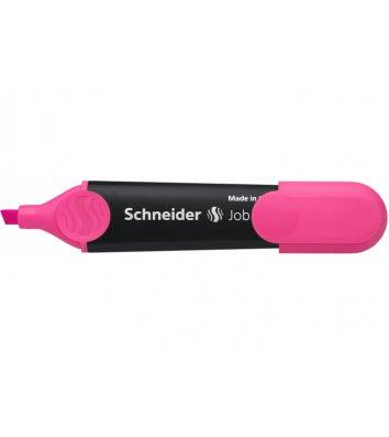 Маркер текстовый Job 150, цвет чернил розовый 1-4,5мм, Schneider