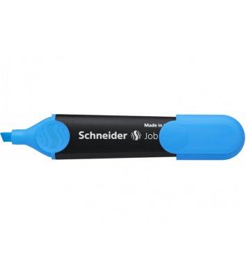 Маркер текстовий Job 150, колір чорнил синій 1-4,5мм, Schneider