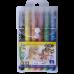 Пастель масляная 6 цветов с акварельным эффектом, Zibi
