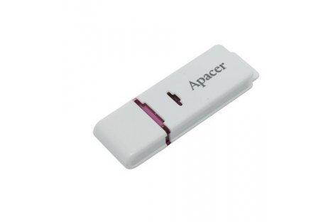 Флеш-память 16GB Apacer AH333, корпус белый