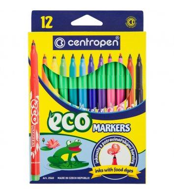 Фломастери 12 кольорів Eko, Centropen