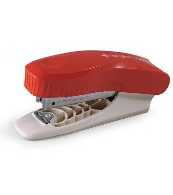 Степлер  25арк скоби 24/6  пластиковий корпус червоний Trendy-35, Kangaro