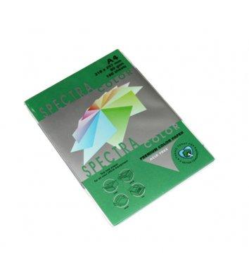 Бумага А4 120г/м2 250л цветная Spectra Color, темно-зеленая
