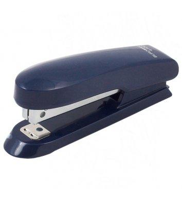 Степлер 10л скобы 10 пластиковый корпус синий, Buromax