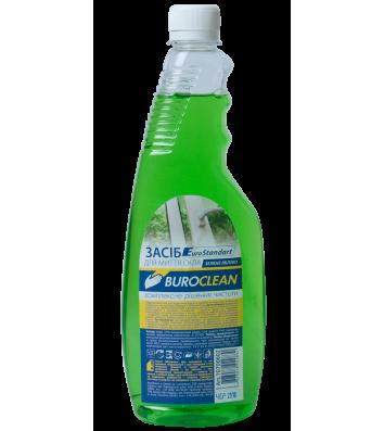 Средство для мытья Buroclean запасной 500мл зеленое яблоко