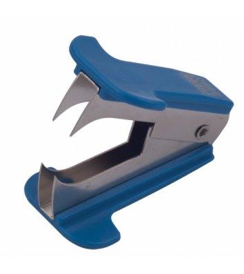 Антистеплер для скоб, колір корпусу синій, Buromax