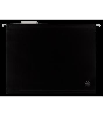 Файл подвесной А4 пластиковый черный, Buromax