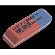 Гумка для олівців та чорнил червоно-синя, Buromax