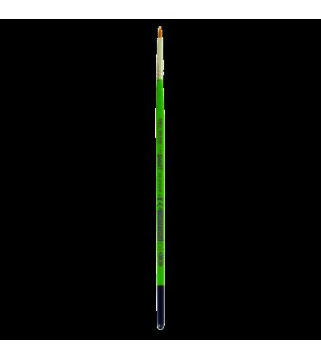 Пензлик  №3  синтетика (нейлон) плаский