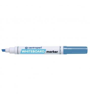 Маркер для дошок 8569 колір чорнил синій 1-4,6 мм клиноподібний, Centropen