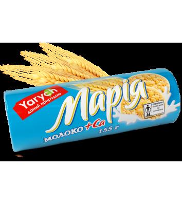 """Печиво """"Марія"""" з молоком та кальцієм 155г, Yarych"""