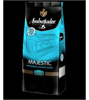 Кава в зернах Ambassador Majestic 1кг