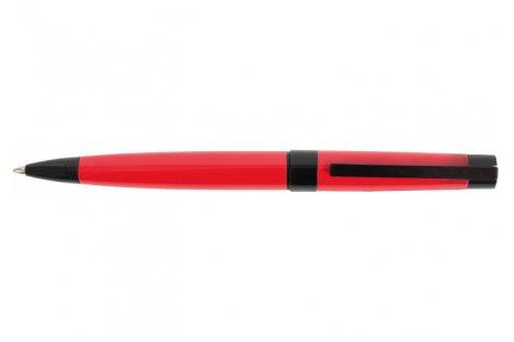 Ручка кулькова Corsica, колір корпусу червоний, Cabinet