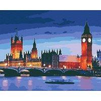 "Картина по номерам ""Лондон"" 40*50см, Riverа Blanca"