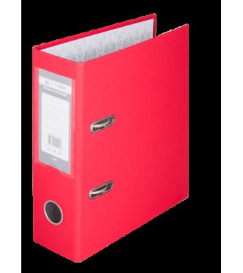 Папка-реєстратор А5 70мм одностороння червона Lux, Buromax