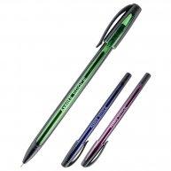 Ручка масляна Space, колір чорнил синій 0,7мм,  Axent