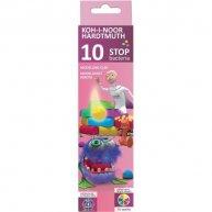 "Пластилін 10 кольорів 200г ""Stop bacteria"", KOH-I-NOOR"