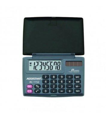 Калькулятор  8 розрядів кишеньковий 87*58*10мм, Assistant