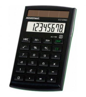 Калькулятор  8 розрядів кишеньковий 60*100*11мм Eco, Assistant