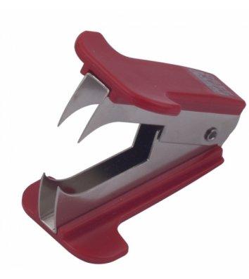 Антистеплер для скоб, колір корпусу червоний, Buromax