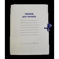 Папка А4 паперова на зав'язках 350г/м2, Buromax