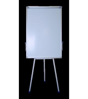 Фліпчарт-тринога 70*100cм магнітно-маркерний, алюмінієва рамка Jobmax, Buromax