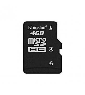 Карта пам'яті  4GB Kingston MicroSDHC Class 4 без адаптера