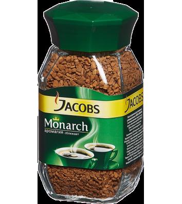 Кава розчинна Jacobs Monarch 95г, скло