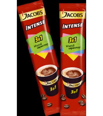 Напиток кофейный Jacobs Intense 3в1 в стиках 13г
