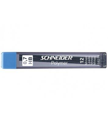 Стержни к механическому карандашу HB 0,5мм 12шт, Schneider