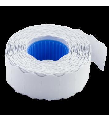 Етикетки-цінники 22*12мм 1000шт білі, Buromax