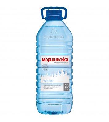 Вода мінеральна негазована Моршинська 3л