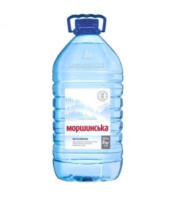 Вода мінеральна негазована Моршинська 6л