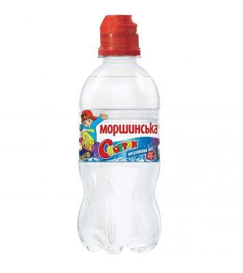 Вода мінеральна негазована Моршинська 0,33л Спортик