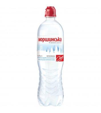 Вода минеральная негазированная Моршинська 0,75л Спорт