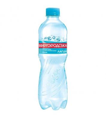 Вода мінеральна слабогазована Миргородська Лагідна 0,5л