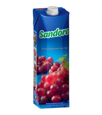 Нектар Sandora 1л виноградный