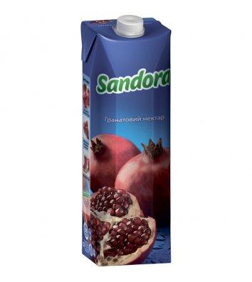 Нектар Sandora 1л гранатовый