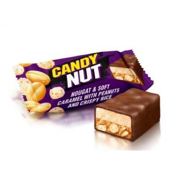 Цукерки Candy Nut карамель з арахісом хрусткий рис 1кг, Roshen