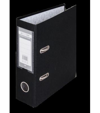 Папка-реєстратор А5 70мм одностороння чорна Lux, Buromax