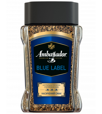 Кофе растворимый Ambassador Blue Label 95г