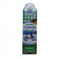 Молоко Селянське 1,5% 1л