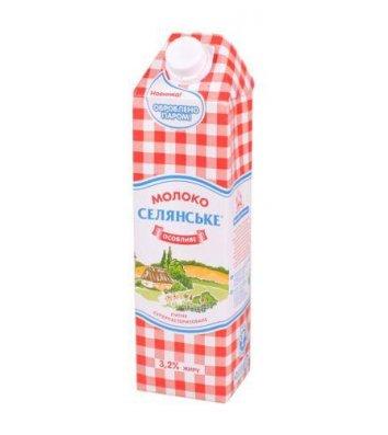 Молоко Селянське 3,2% 1л