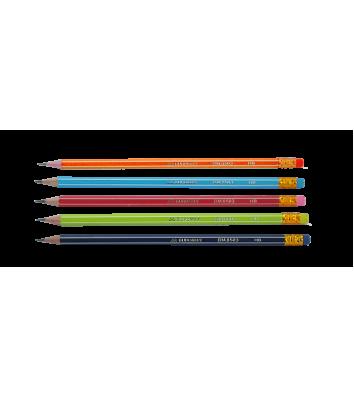 Олівець чорнографітний НВ White Line, Buromax