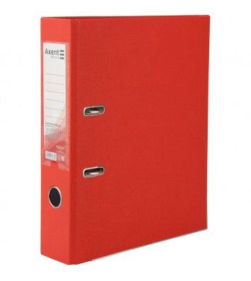 Папка-реєстратор А4 75мм одностороння червона, Axent